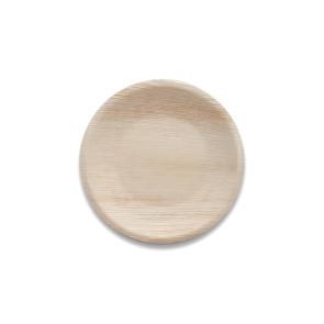 Feuilles de palmier assiette ronde 18 cm