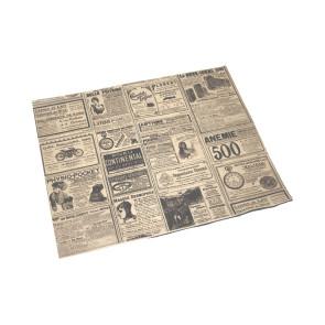 Papier kraft ingraissable, rectangulaire, grand format, TIMES 31 x 38 cm