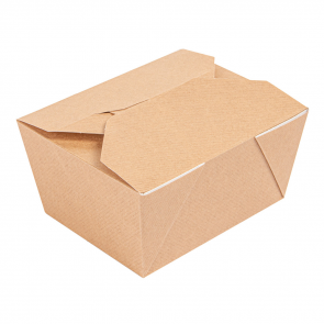 Boîte à lunch, mini, 750 ml/26 oz, kraft PREMIUM