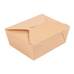 Boîte à lunch petite-1350 ml/45 oz, kraft, PREMIUM