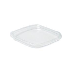 Couvercle carré  PLA saladier 400 - 700ml
