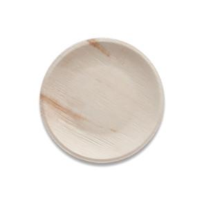 Feuilles de palmier assiette ronde 23 cm