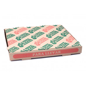 Boîte à pizza, 32 x 32 cm