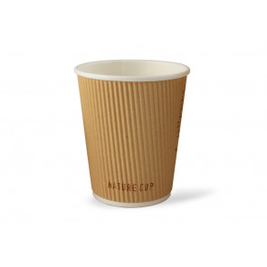 Gobelet à café, double couche, Nature 12oz / 360 ml