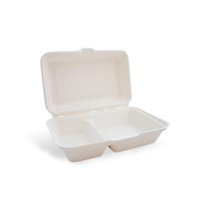 Boîte à menu, 2 compartiments avec couvercle.