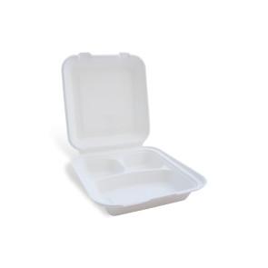 Boîte à menu, 3 compartiments avec couvercle.