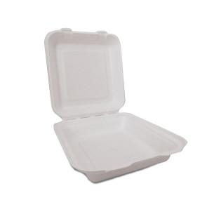 Boîte à menu 1 compartiment avec couvercle moyen