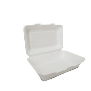Boîte à menu 1 compartiment avec couvercle 1000ml