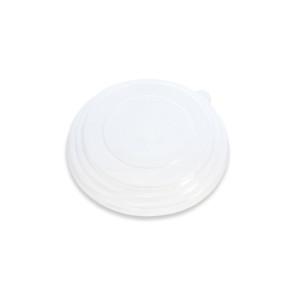 Deksel saladebak klein / Poké bowl kraft - nature 15cm, RPET