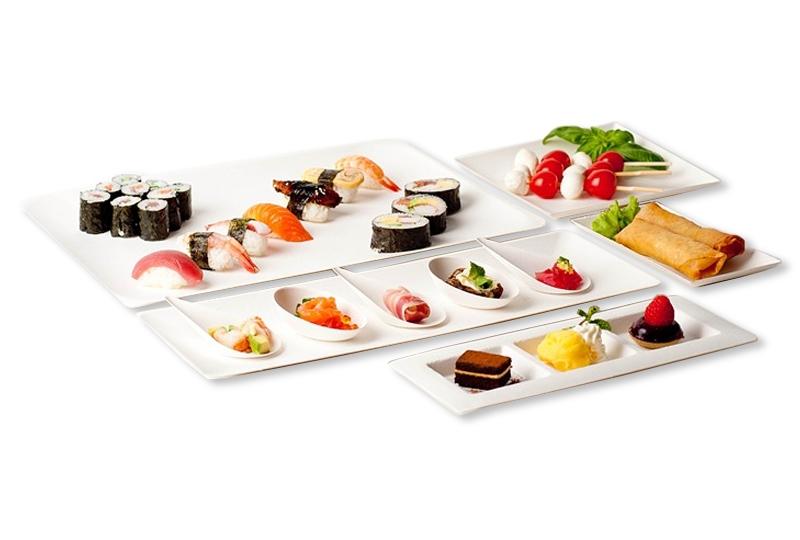 Fingerfood-Geschirr von Bioodi