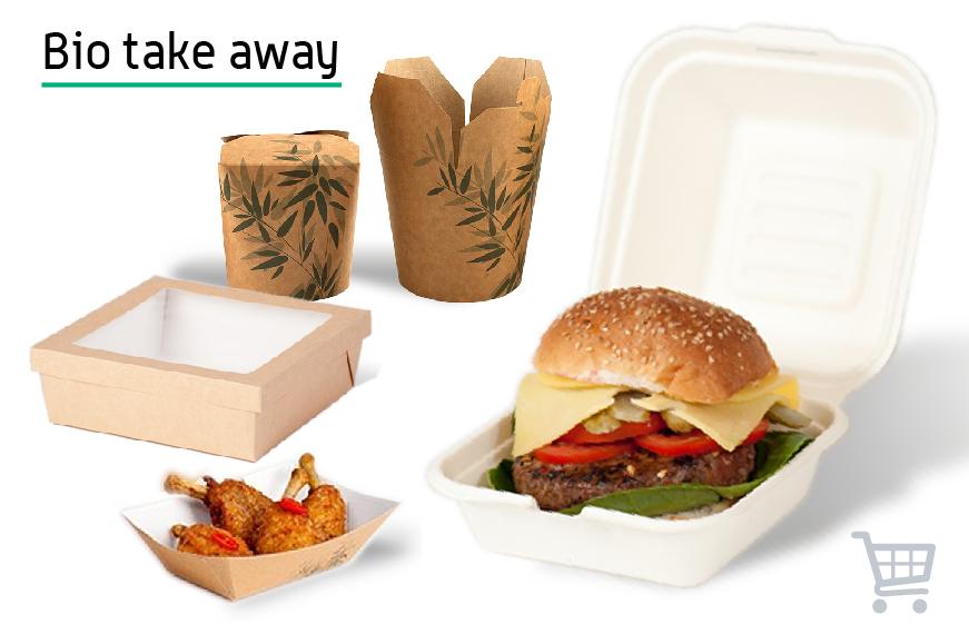Gastroverpackungen aus umweltfreundlichen Materialien